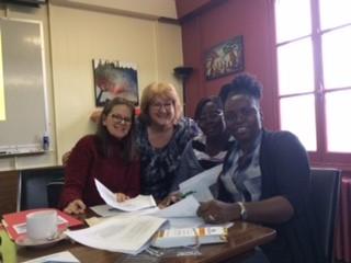 Trois citoyennes ambassadrices du quartier participent au Midi-RAP!